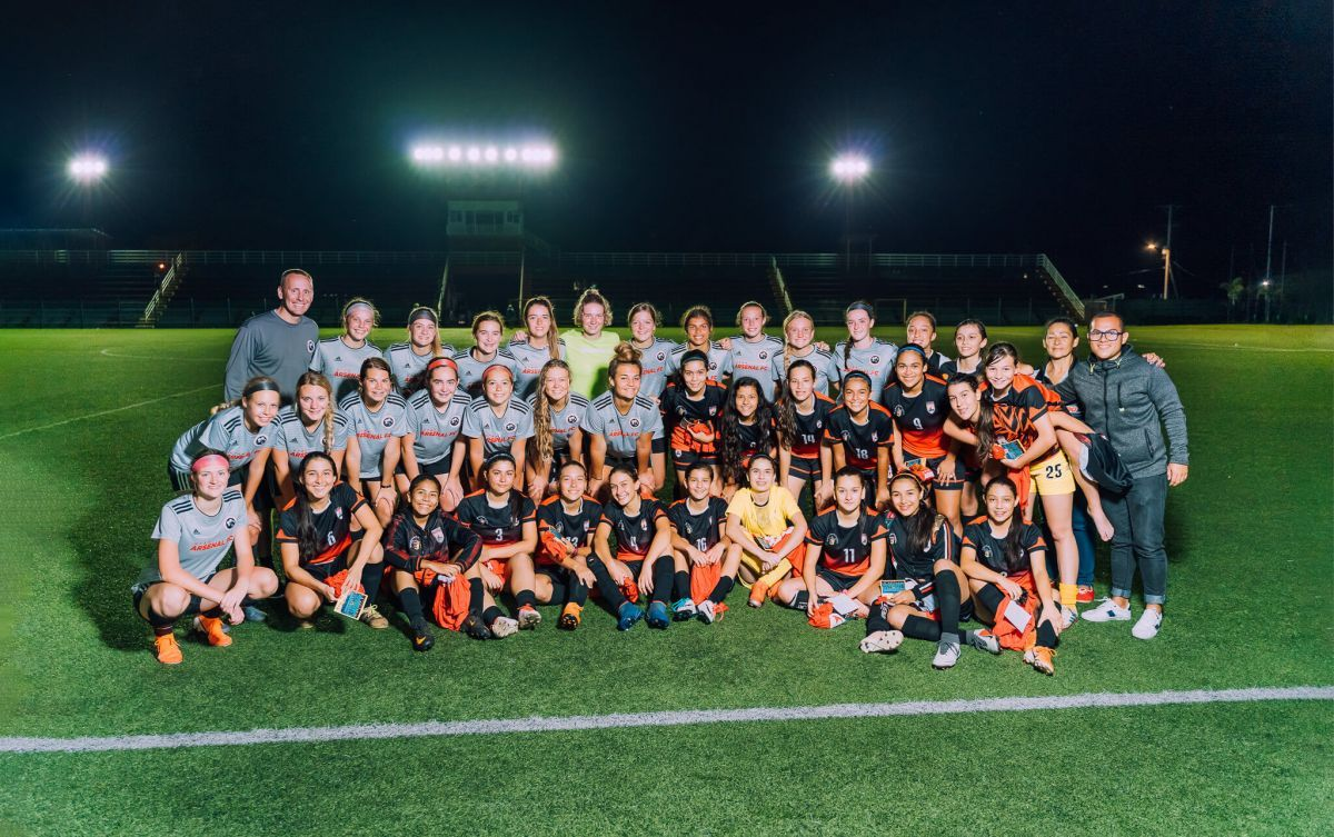 Arsenal FC Premier U16 girls' team 7