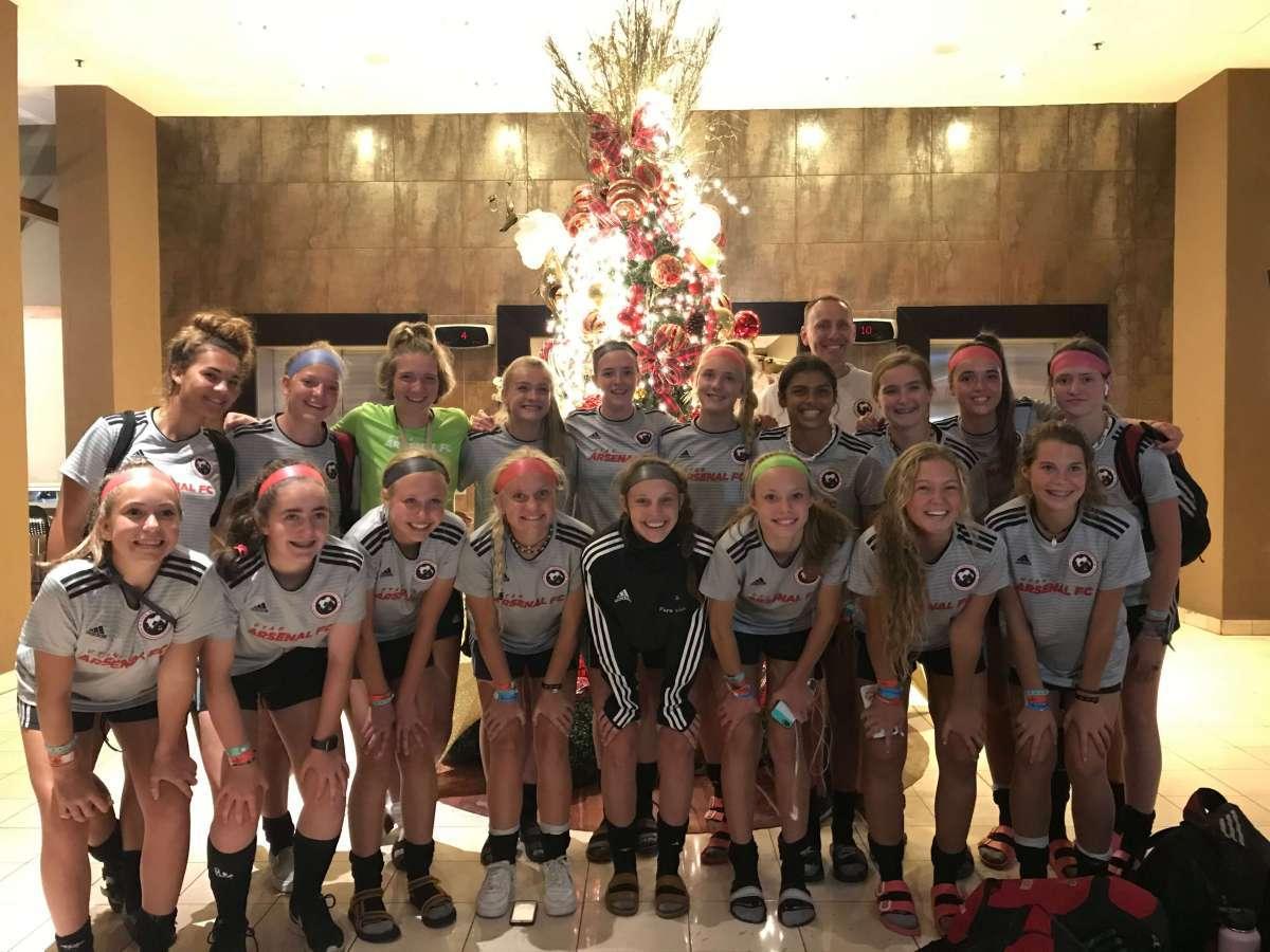 Arsenal FC Premier U16 girls' team 15