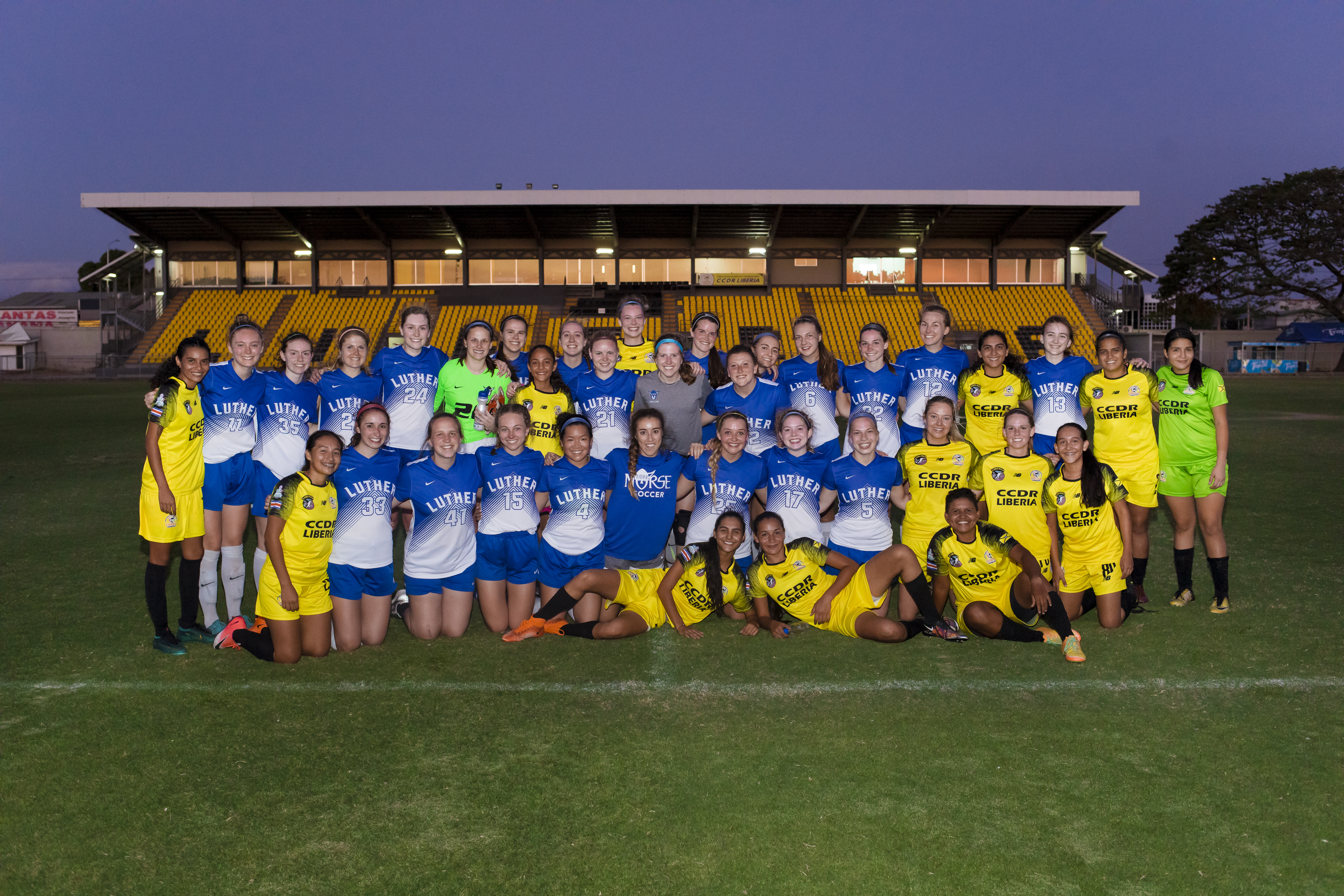 Luther College Women's Soccer 17