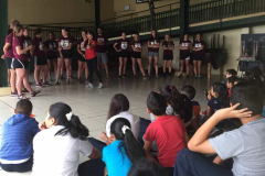 UW-La Crosse women's soccer trip - Community Service 2