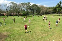 UW-La Crosse women's soccer trip - Training 1