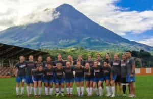 soccer trip to costa rica - volcano