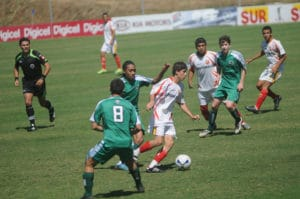 Costa Rica soccer competition - boys