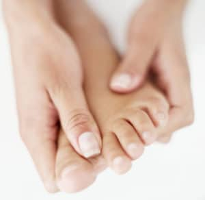 Foot - prevent leg cramps