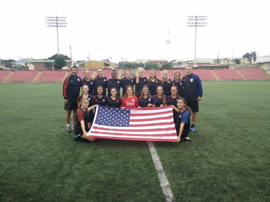 Pateadores Costa Rica soccer trip - flag