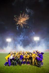 Minnesota State University women's soccer trip - fireworks