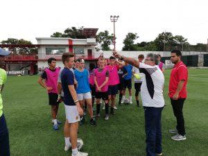 Costa Rica Soccer Preseason Training