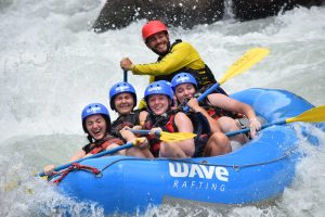 Roanoke College Whitewater Rafting