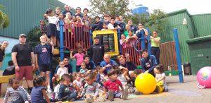 ODP West Region Boys volunteering in Costa Rica.