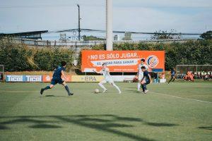 ODP West Region Soccer Team during match.